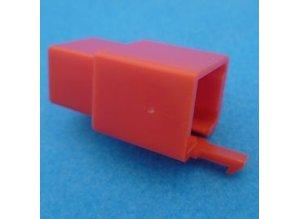 HCM6R 6 polig rood 10 stuks
