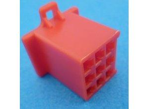 HCF9R 9 polig rood 10 stuks