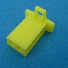 HCF2Y 2 polig geel 10 stuks