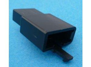 HCM3B 3 polig zwart 10 stuks