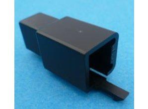 HCM4B 4 polig zwart 10 stuks