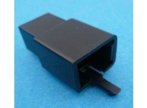 HCM6B 6 polig zwart 10 stuks