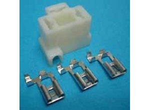 30-145W koplampstekker haaks H4 wit 3-polig