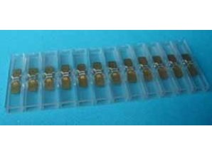 2452 schuifstekkerstrip breed 12-V