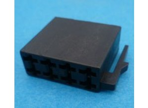 RC8-BLK  radio ISO 8-polig female