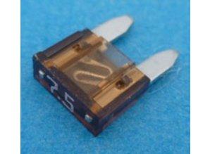 mini steekzekering 7,5A MIF7.5