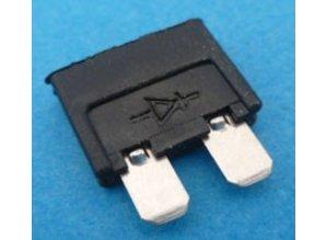 diode 1N5404 in steekzekeringbehuizing