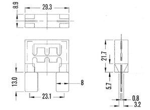 maxi zekering 70A MAF70