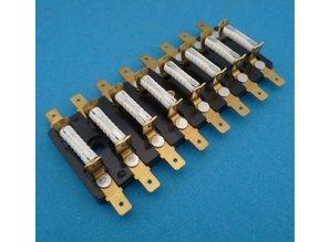 PFB08-V 8-voudig 8-voudig voor keramische zekeringen