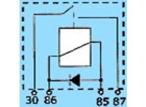 2842D 12V/20A N.O. (maakkontakt) en diode