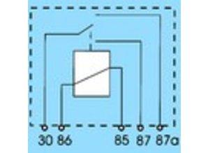 2845 12V 20/10A wisselkontakt