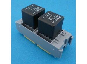 R01500 relaisvoet voor 2 mini relais