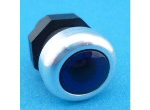 ME-739000 Controlelamphouder alu+blauw