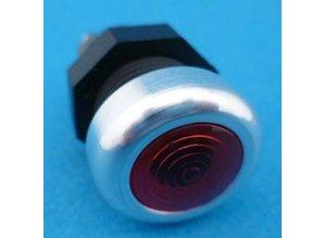 ME-739600 Controlelamphouder alu+rood