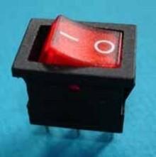 E424 aan/uit rood verlicht