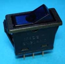 E89NU aan/uit  blauw