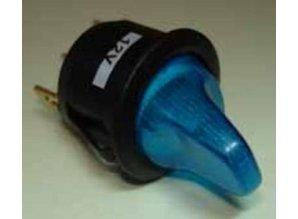E752 blauw verlicht