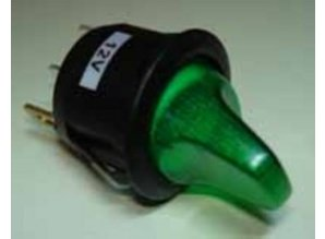 E753 groen verlicht
