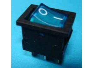 E422 aan/uit blauw verlicht 1-0