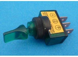 E136G aan/uit verlicht groen