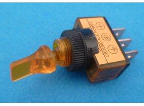 E136T aan/uit verlicht oranje