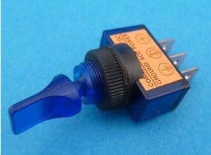E136U aan/uit verlicht blauw