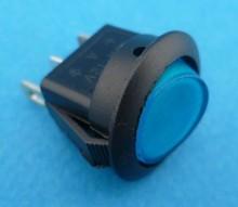 E722 aan/uit blauw verlicht