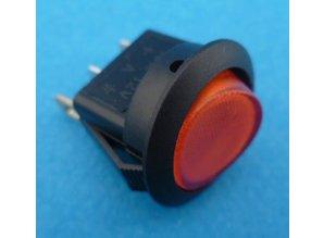 E724 aan/uit rood verlicht