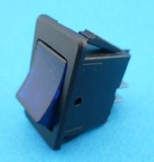 E632 aan/uit verlicht blauw