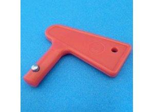 ME-2 52168  sleutel red/alu
