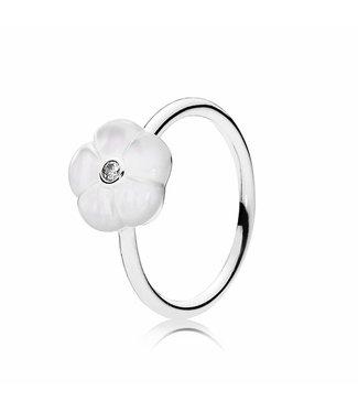 Pandora Floral silver ring 190999MOP