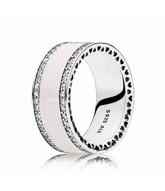 Pandora ring Pink Hearts of Pandora Band 191024EN40