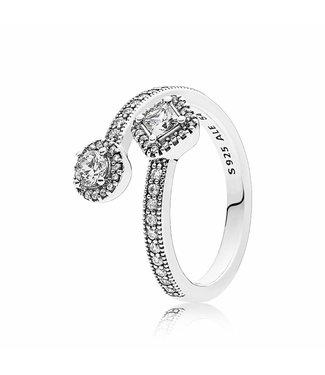 Pandora ring Abstract Elegance 191031CZ