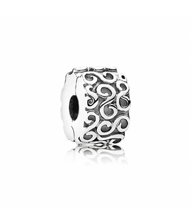 Pandora Abstract silver clip 790338