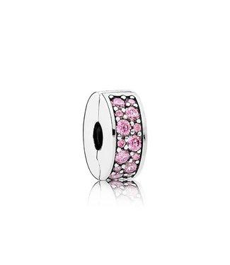 Pandora Pink Shining Elegance Spacer clip 791817PCZ
