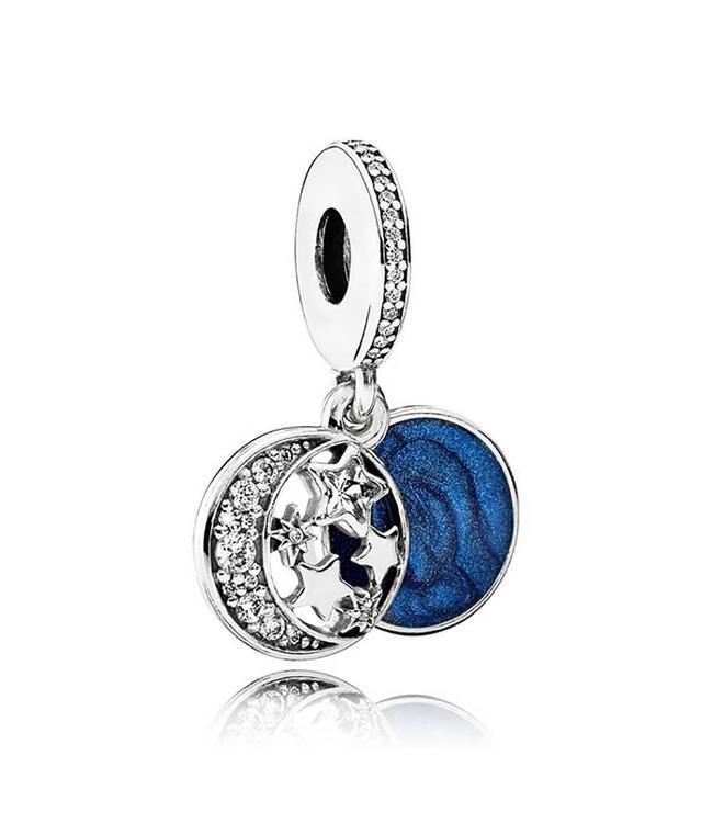 Pandora Moon and Star dangle 791993CZ