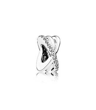 Pandora Spacer with clear cubic zirconia 791994CZ