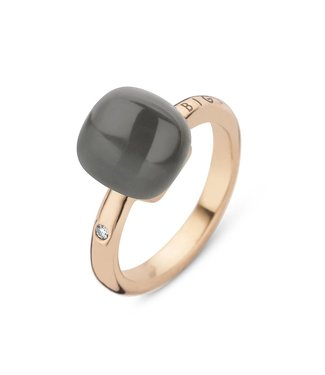 Bigli ring Mini Sweety Grey Adularia with Mother of pearl 20R88Radgrmp 0.02ct