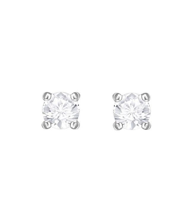 Swarovski Attract pierced earrings round 5408436