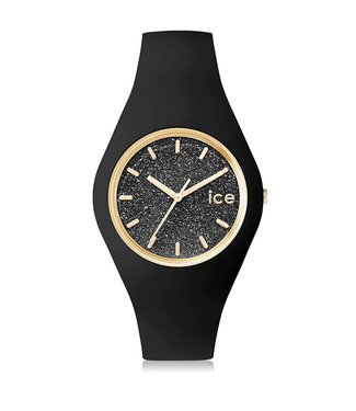 Ice Watch Ice Glitter - Black - Medium - 001356