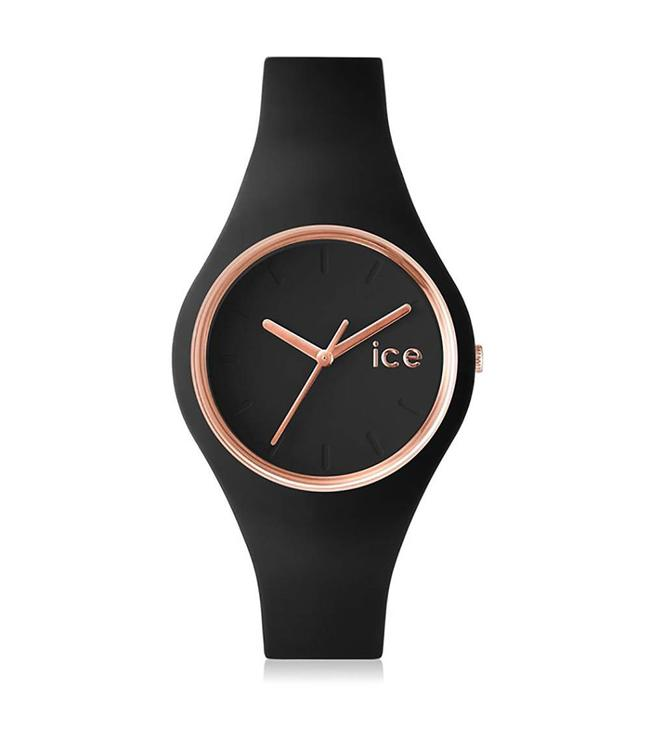 Ice Watch Ice Glam - Black Rose gold - Small - 000979