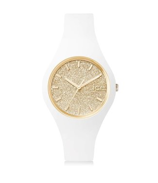 Ice Watch Ice Glitter - White Gold - Small 001345