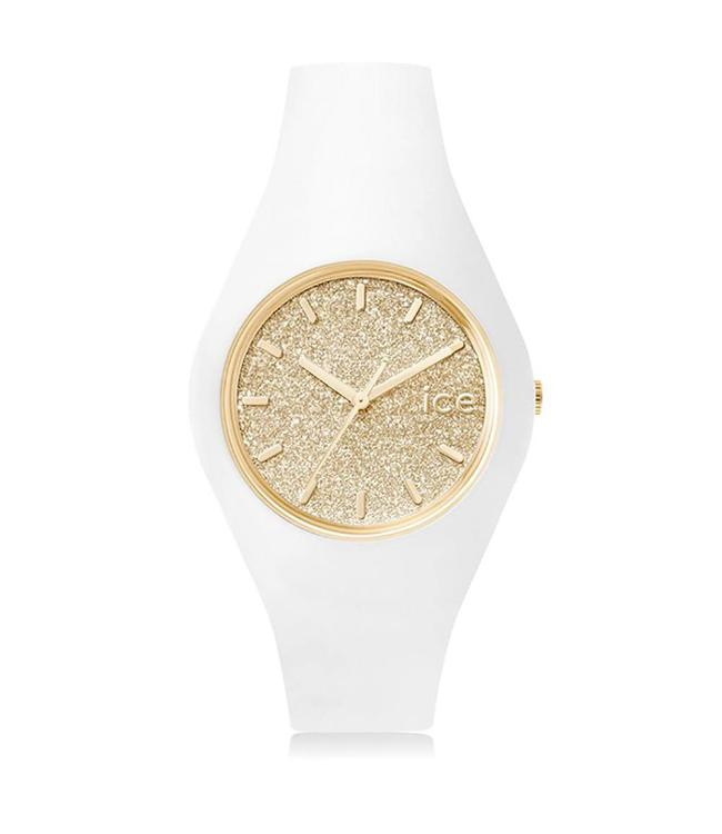 Ice Watch Ice Glitter - White Gold - Medium - 001352