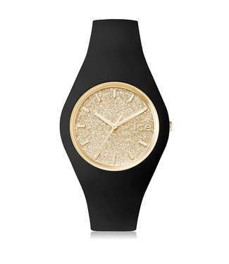 Ice Watch Ice Glitter - Black Gold - Medium - 001355