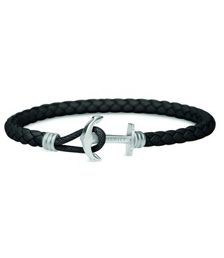 Paul Hewitt Anchor leather bracelet phrep lite PH-PHL-L-S-B