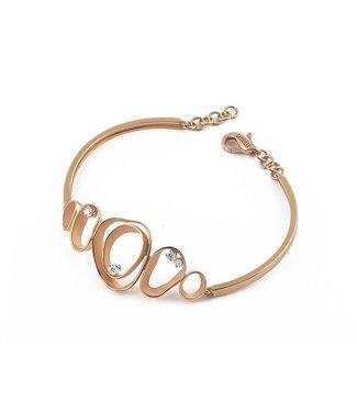 Annamaria Cammilli armband Dune orange gold GBR1934J