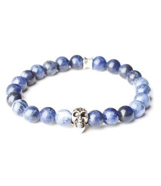 Gemini Skull Blue