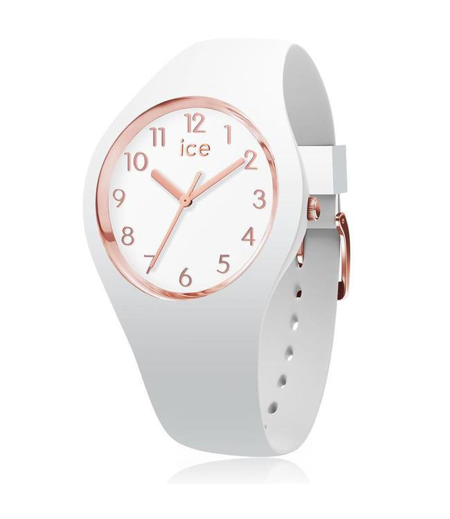 Ice Watch Ice Glam - White Rose Gold - Numbers - Small - 015337