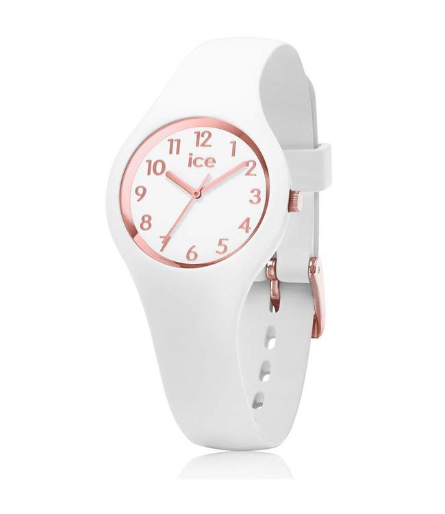 Ice Watch Ice Glam - White Rose-Gold - Numbers - Extra Small 015343