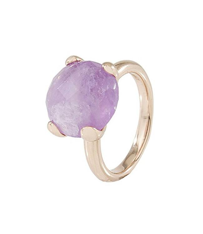 Bronzallure Faceted Stone ring WSBZ00013V